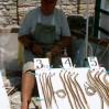 Bułgaria tania - sprzedawca pamiątek