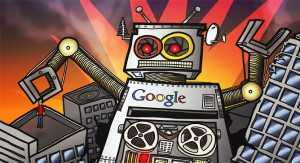google as a giant robot 300x163 Google rules